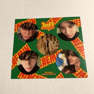 シャイニー(SHINee)のSHINee 1 of 1 テミン めんこ 1of1 メンコ トレカ(アイドルグッズ)