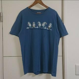 ダックカンパニー Tシャツ 古着 アニマル柄 ペンギン