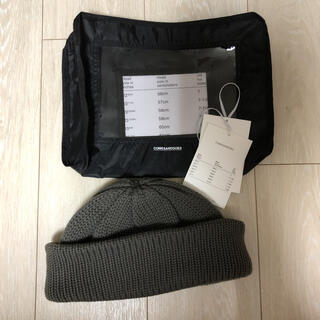 1LDK SELECT - 新品 タグ付き comesandgoes standard knit グレー