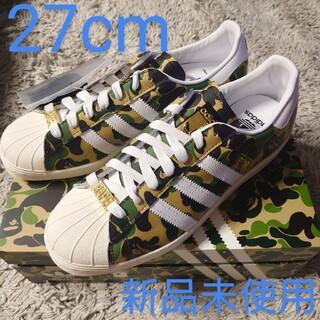 """adidas - 【正規品】ベイプ✕アディダス スーパースター 80'S """"グリーン カモ"""""""