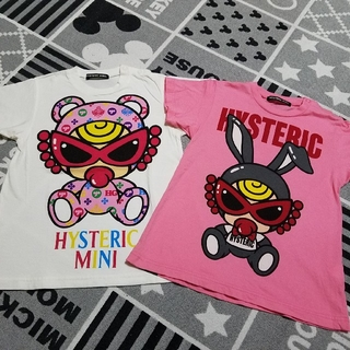 ヒステリックミニ(HYSTERIC MINI)のヒスミニ 90BIG Tシャツせっと(Tシャツ/カットソー)
