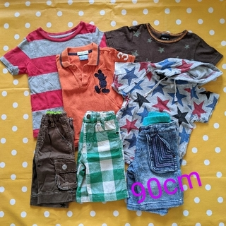 エフオーキッズ(F.O.KIDS)の男の子 女の子 こども服 まとめ売り 90 7点(Tシャツ/カットソー)