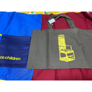 Mr.Children 巾着袋 袋 計2点  ノベルティ グッズ(ミュージシャン)