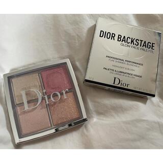 Dior - ディオール バックステージ フェイスグロウパレット 004 ローズゴールド
