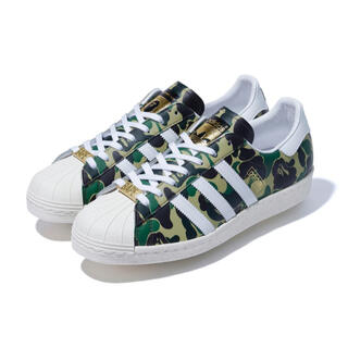 adidas - BAPE × adidas Originals  SUPERSTAR 80S