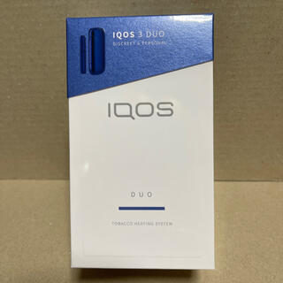 IQOS - 新品未開封★IQOS 3 DUO ステラブルー 未登録 5月7日購入品