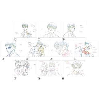 鬼滅の刃 絵巻 展示原画ポストカードセット 愈史郎 10枚(カード)
