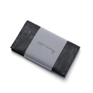 カードケース(名刺入れ) [黒い壁] / C01-bk 【カガリユウスケ】(名刺入れ/定期入れ)