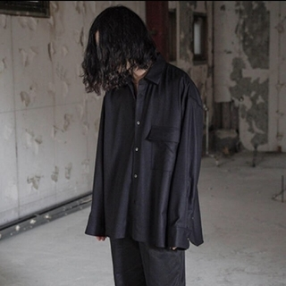 SUNSEA - stein 19aw Oversized Down Pat Shirt