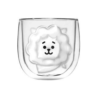 ボウダンショウネンダン(防弾少年団(BTS))の【新品】BT21 ダブルグラス 二重グラス RJ アールジェイ ジン(アイドルグッズ)
