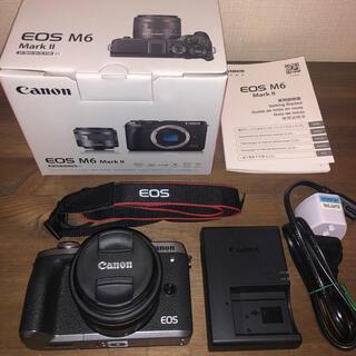 Canon - Canon EOS M6 Mark II レンズキット