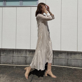 Ameri VINTAGE - 新品 アメリ 2WAY FLOWER GARDEN DRESS