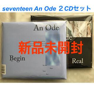 SEVENTEEN - 新品未開封☆An Ode Begin Real 2CD seventeenトレカ