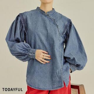 TODAYFUL - 新品トゥデイフル  Cotton Asymmetry Shirts
