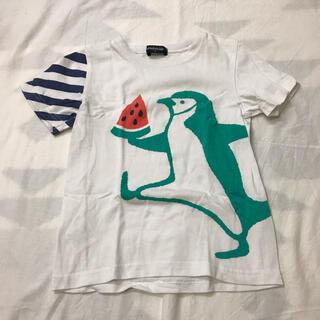 クレードスコープ(kladskap)のクレードスコープ ペンギンTシャツ 110cm(Tシャツ/カットソー)