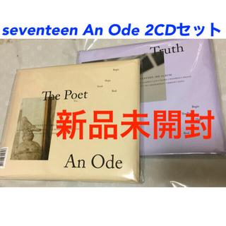 新品未開封☆An Ode Poet Truth 2CD seventeenトレカ