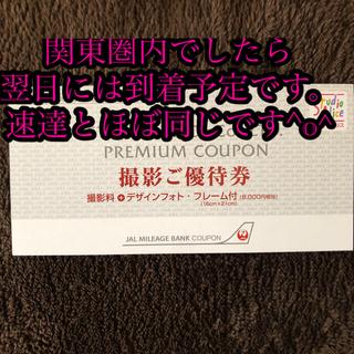 スタジオアリス 株主優待券 JAL クーポン券(その他)