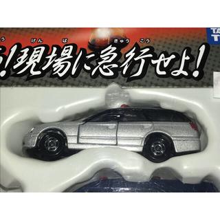 タカラトミー(Takara Tomy)のトミカ スバル レガシィ ツーリングワゴン 捜査用車 銀(ミニカー)