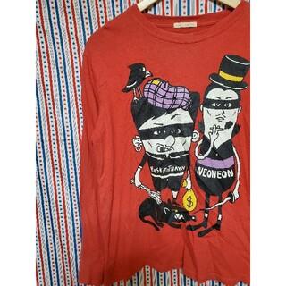 インメルカート(inmercanto)のinmercanto ファニープリント 長袖 Tシャツ(Tシャツ(長袖/七分))