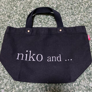 niko and... - nik and  ロゴトートバッグ