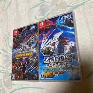 ニンテンドースイッチ(Nintendo Switch)のゾイドワイルド インフィニティブラスト 2枚セット(家庭用ゲームソフト)