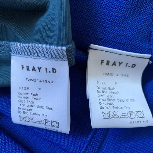 FRAY I.D(フレイアイディー)のFRAY I.D ワンピース レディースのワンピース(その他)の商品写真