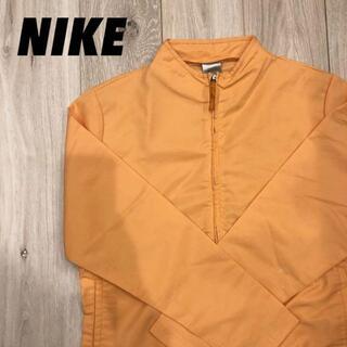 ナイキ(NIKE)の【NIKE】ナイロンジャケット オレンジ(ノーカラージャケット)