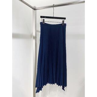 新品 プリーツスカートはブルー  S(その他)