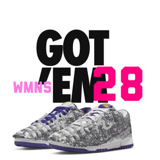 NIKE - NIKE WMNS DUNK LOW MADE YOU LOOK ダンク 28