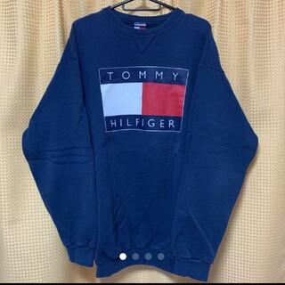 トミーヒルフィガー(TOMMY HILFIGER)の美品!早い者勝ち!!TOMMY HILFIGER 90s トレーナー(スウェット)