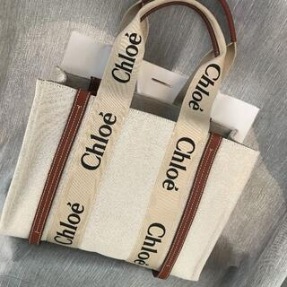クロエ(Chloe)のクロエ woodyミディアムトートバッグ ミディアム(トートバッグ)