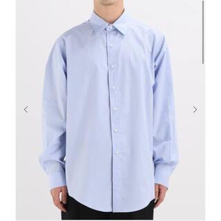コモリ(COMOLI)のLE エルイー  wide×standard レギュラーカラーシャツ ブルー(シャツ)