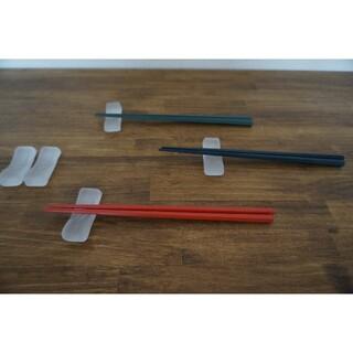ノリタケ(Noritake)のノリタケ ガラス製 箸置き カトラリー置き 5セット(カトラリー/箸)