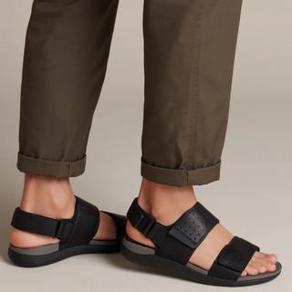 クラークス(Clarks)の新品✨タグ付き♪定価18,700円 クラークス メンズ 足に優しいサンダル  (サンダル)