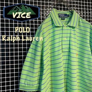 ポロラルフローレン(POLO RALPH LAUREN)のRalphLauren/ラルフローレン 90'sポロシャツラガーシャツ 刺繍ロゴ(ポロシャツ)
