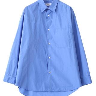 コモリ(COMOLI)のBroad Oversized L/S Regular Collar Shirt(シャツ)