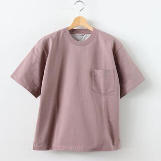 コモリ(COMOLI)のAURALEE オーラリー STAND-UP Tee スタンドアップT Tシャツ(Tシャツ/カットソー(半袖/袖なし))