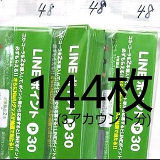 LINEポイント30p×144枚 (NiziUグッズが抽選で当たる応募券)