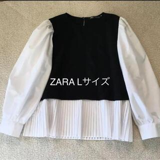 ザラ(ZARA)のZARA  トップス(カットソー(長袖/七分))