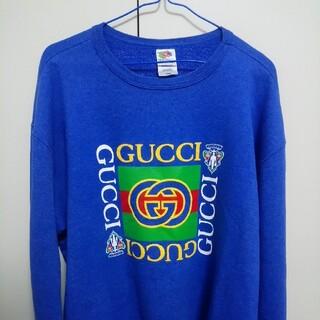 Gucci - GUCCIパーカー【ストリートファッション】