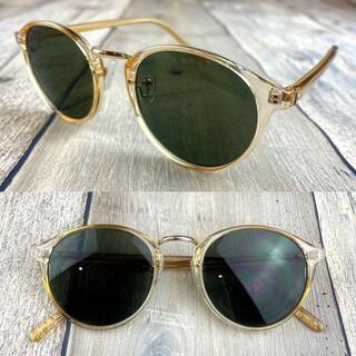 インスタ人気商品❗スモーク ボストン ウェリントン サングラス 眼鏡(サングラス/メガネ)