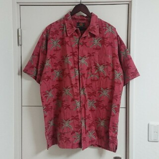 ルート66 アロハシャツ 古着 総柄 ビッグシルエット(シャツ)