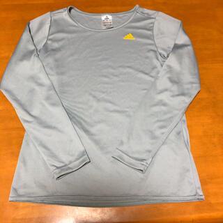 アディダス(adidas)のアディダス Tシャツ 長袖 Lサイズ(Tシャツ(長袖/七分))