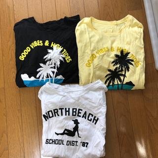 Tシャツ 3枚セット(Tシャツ(半袖/袖なし))
