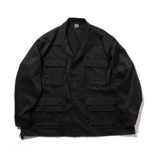 ワンエルディーケーセレクト(1LDK SELECT)のAbu Garcia × BEAMS 別注 BDU Jacket S Black(ミリタリージャケット)