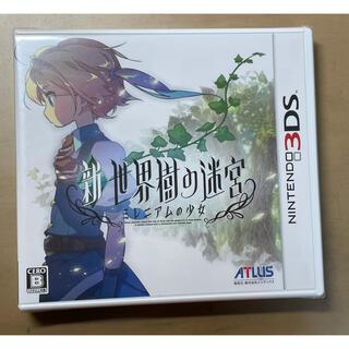 ニンテンドー3DS(ニンテンドー3DS)の新品・未開封  新・世界樹の迷宮 ミレニアムの少女(携帯用ゲームソフト)