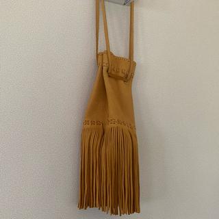ナバホ族が製作したメディスンポーチ(バッグ)巾着です。ディアスキン!navajo