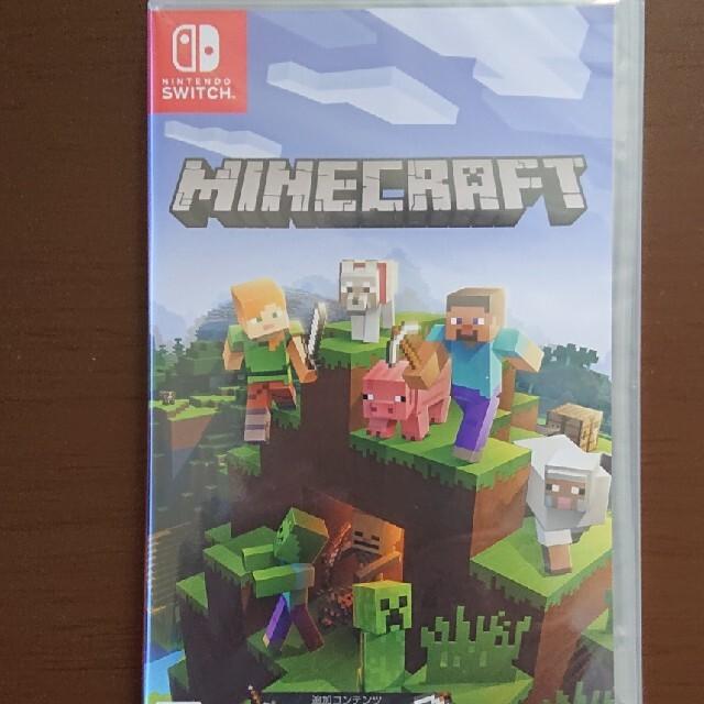 Nintendo Switch(ニンテンドースイッチ)のニンテンドースイッチ マインクラフト エンタメ/ホビーのゲームソフト/ゲーム機本体(家庭用ゲームソフト)の商品写真