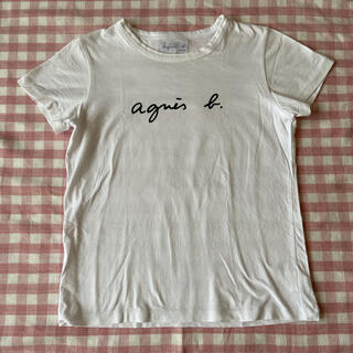 agnes b. - ☆美品☆アニエスベー 半袖ロゴTシャツ レディース  S