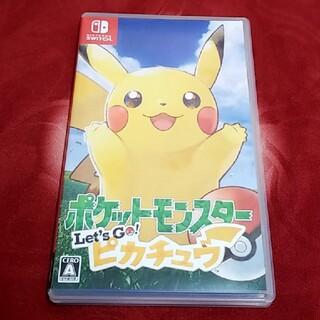 ニンテンドースイッチ(Nintendo Switch)のSwitch ポケモン ピカチュウ(家庭用ゲームソフト)
